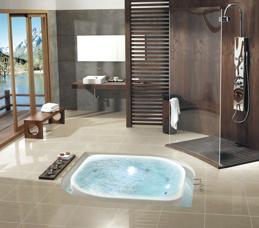 Zen style housebliss Bathroom design spa look